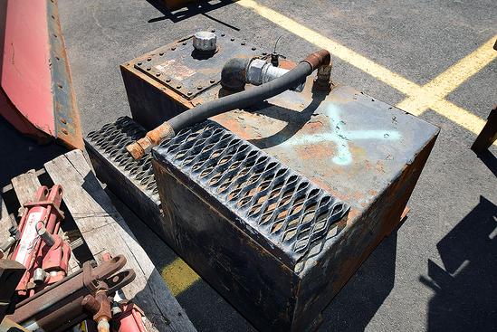Steel Step Fuel Tank