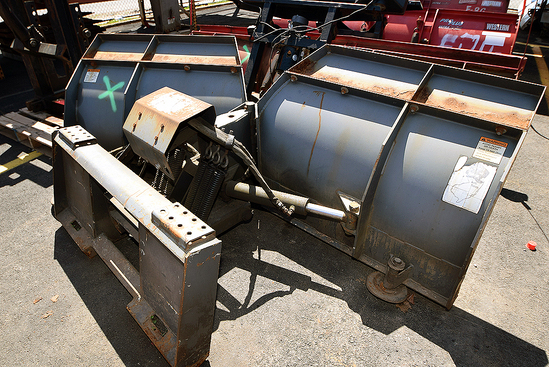 Bobcat Hydraulic V-Plow Attachment