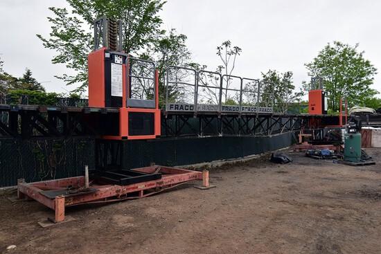 Fraco ACT8, 2-Mast Climbing, Work Platform