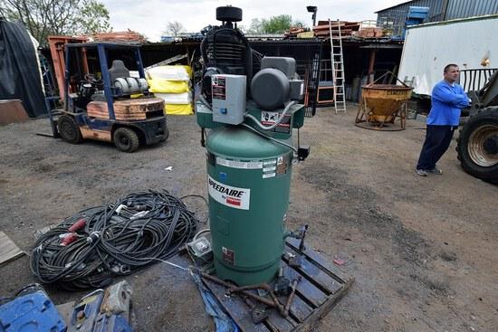 Speedaire 5HP Vertical  Air Compressor