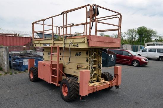 JLG Model 500-RTS, 55' 4WD Sizzor Lift