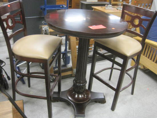 High Top Table w/chairs