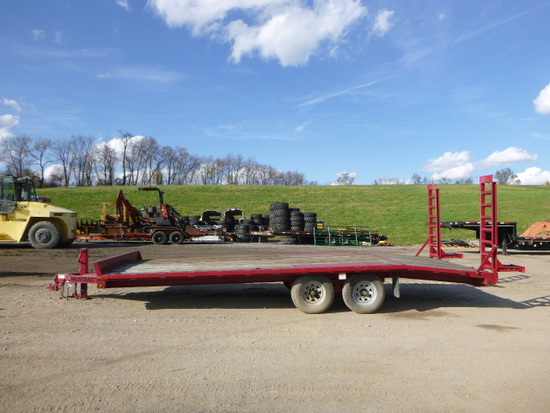 MUSTANG TRAILER *TITLE* (QEA 5887)