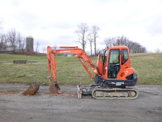 2012 KUBOTA KX121R3AT3 EXCAVATOR (QEA 6483)