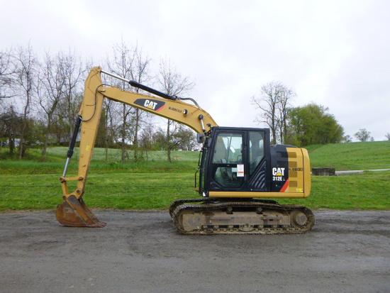 15 Caterpillar 312EL Excavator (QEA 7564)