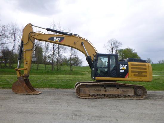 13 Caterpillar 336EL Excavator (QEA 7566)