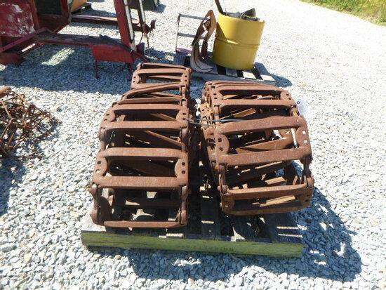 Steel Tracks to fit JD 320 (QEA 2887)