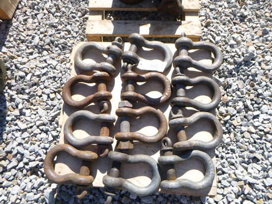 (12) 12 Ton Shackles (QEA 3006)