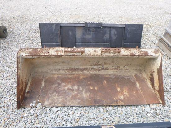 Skid loader bucket (QEA 8267)