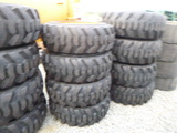 (4) 10-16.5 Tires on BC Rims (QEA 1658)