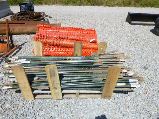 Pallet of T-Posts (approx 100 pcs) (QEA 2911)
