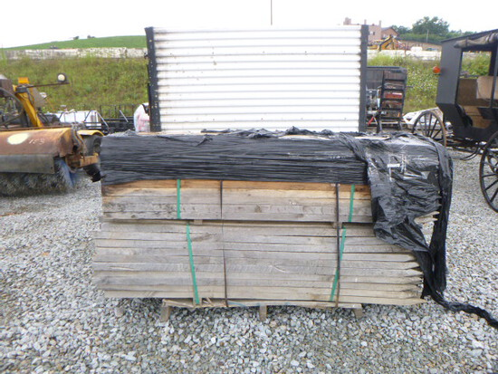 Skid - 5 ft. Wooden Stakes (QEA 3072)