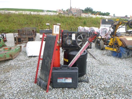 Air Compressor, Sand Blaster, Welder (QEA 3122)