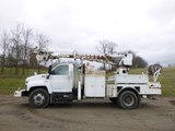04 GMC C8500 Truck/Terex 42 ft Digger ^TITLE^ (QEA 2475)