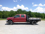 02 Ford F550 Flatbed Truck ^Title^ (QEA 2806)
