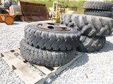 (2) Hyundai 170W3 Wheels & Tires (QEA 2961)