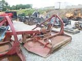 Brown 3pt tree cutter rotary mower (QEA 3019)