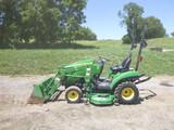 John Deere 1023E Tractor (QEA 3053)