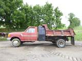 90 Ford Dump Truck ^Title^ (QEA 3094)