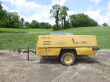 Atlas Copco XAS175 Air Compressor ^Does Not Run^ (QEA 3100)