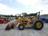New Holland 345D Tractor W/Loader (QEA 6479)
