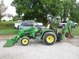 John Deere 4310 Tractor (QEA 7593)