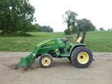 John Deere 3320 Tractor (QEA 7808)