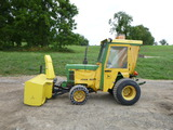 John Deere 650 Tractor w/ attachments (QEA 7886)