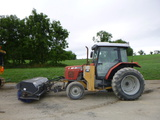 07 Massey Ferguson 573 Tractor (QEA 7990)