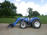 14 New Holland T4.75 Tractor (QEA 8082)
