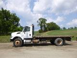 12 International 4400 Flatbed Truck(6577) ^Title^ (QEA 3154)
