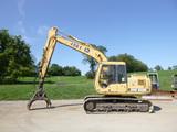 John Deere 490E Excavator w/ log grapple (QEA 3291)