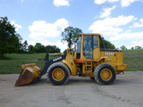 John Deere 444H wheel loader (QEA 6289)