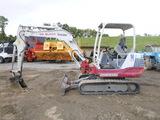 13 Takeuchi TB235 Mini Excavator (QEA 6731)