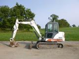 01 Bobcat 341 Mini Excavator (QEA 6919)