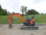 17 Kubota U25R1T4 Excavator (QEA 7695)