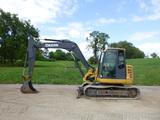 12 John Deere 85D Excavator (QEA 7705)