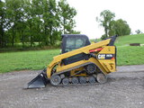 17 Caterpillar 297D2 Skid Loader (QEA 7728)