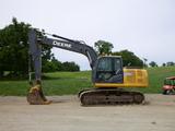 12 John Deere 160GLC Excavator (QEA 7734)