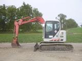 07 Linkbelt 75 Excavator (QEA 7957)