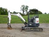 17 Bobcat E26 Excavator (QEA 8046)