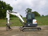 17 Bobcat E50 Excavator (QEA 8170)