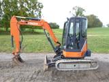 12 Hitachi ZX35 Excavator (QEA 8185)