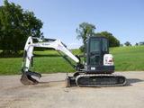 17 Bobcat E50 Excavator (QEA 8311)