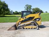 11 Caterpillar 299C Skid Loader (QEA 8314)