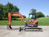09 Kubota U45 Excavator (QEA 8316)