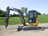 14 John Deere 50G Excavator (QEA 8349)