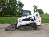 17 Bobcat T650 Skid Loader (QEA 8387)