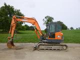 14 Doosan DX85R Excavator (QEA 8397)