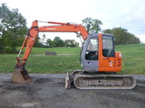 08 Hitachi ZX75 Excavator (QEA 8417)